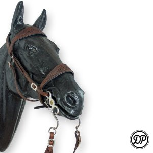 Soft Feel Baroque Headstall Décor Image