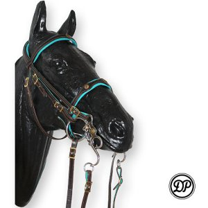 Soft Feel Double Bridle Deluxe (no reins) Image