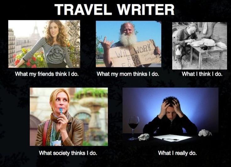 travel writer
