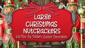 Outdoor Toy Soldier Christmas Decorations.Large Outdoor Nutcracker Decoration Life Size Nutcracker