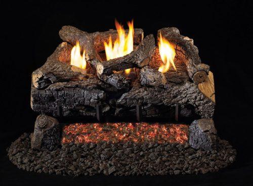 Vent Free Evening Fyre Charred Logs