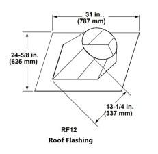 Majestic RF12 Roof Flashing