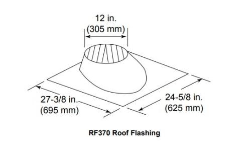 Majestic RF370 Roof Flashing