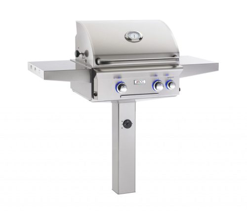 AOG 24NGL 24 L-Series In-Ground Post Mount Grill