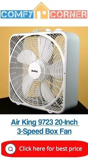 Air King 9723 20-Inch 3-Speed Box Fan Review