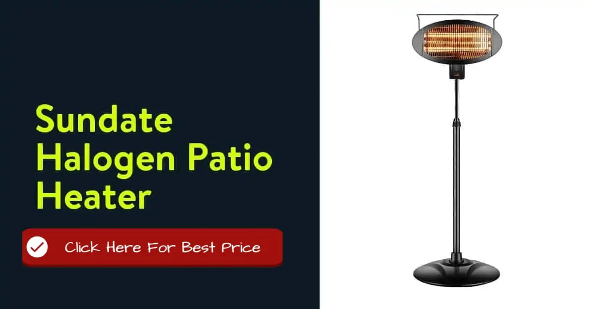 Sundate Halogen Patio Heater