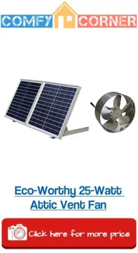 Eco Worthy 25W Attic Fan
