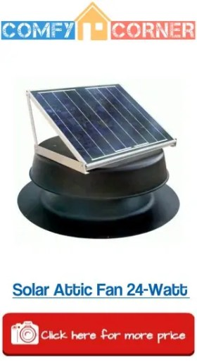 Solar Attic Fan 24Watt