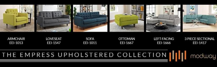 When somebody says the best leather sofa brand, the name of Modway will surely pop up. They are modernised sofas with a dash of contemporary style in them.