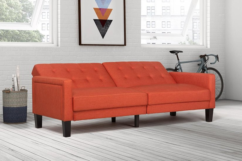 DHP Paris Futon is one of the best futons available in the market. You can read the review of this wonderful and long lasting futon here.
