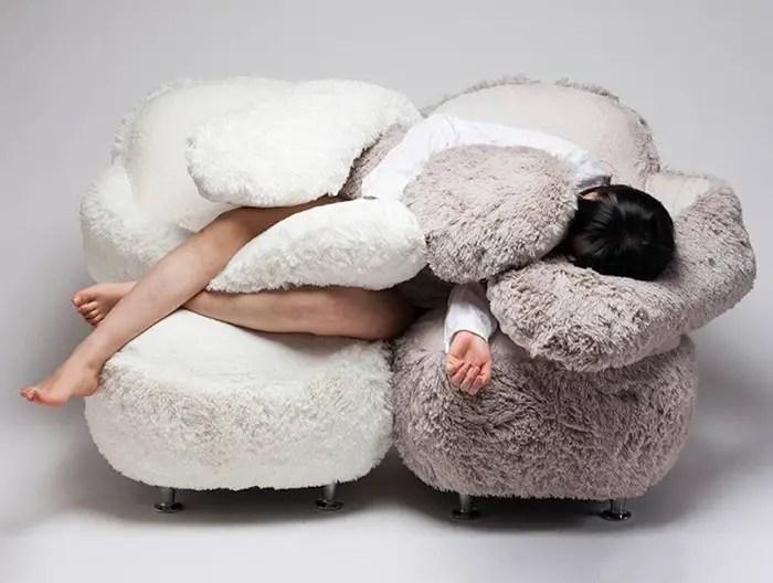 Lee Eun Kyong designed the famous Free Hugging Sofa