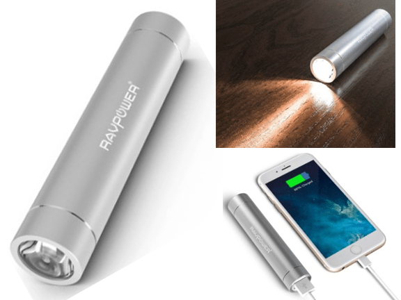 Power Bank-RAVPower-RAVPower 3200mAh Power Bank with Ultra bright flashlight.png