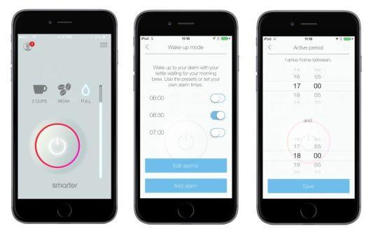 smarter coffee app