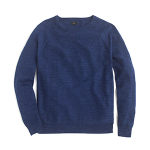 1-Slim Rugged Cotton Sweater by J.Crew