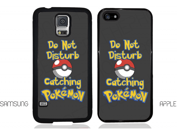 hone Case-Pokemon Go-Pokemon Go Do Not Disturb Catching Pokemon Phone Case