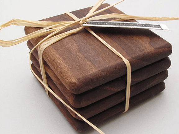 coaster-timbergreenwoods-black-walnut-wood-coasters-set-simply-natural-set-of-4
