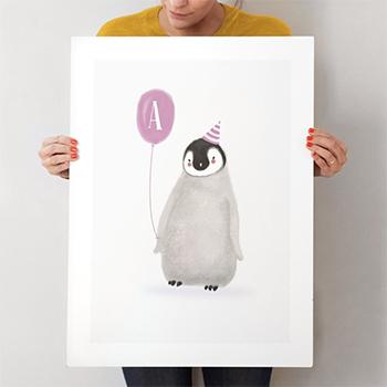 coolest-penguin-custom-art-prints-minted
