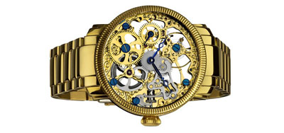 akribos-xxiv-mens-stainless-mechanical-skeleton-gold-tone-bracelet-watch-2