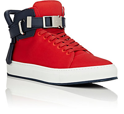 mens-shoes-red-canvas-sneakers-buscemi