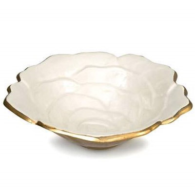 rose-8-inch-gold-snow-bowl