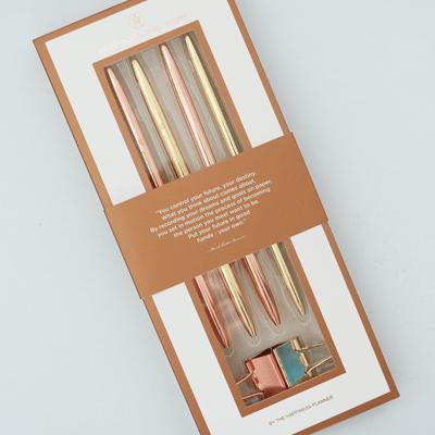 Gold & Rose Gold Pen Set