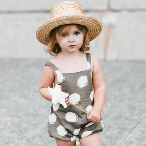 Rylee & cru | Dot Criss Cross Romper