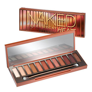 Eye Makeup Tips Urban Decay Naked Heat Eyeshadow Palette