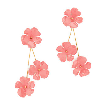 JENNIFER BEHR | Peony Flower Earrings