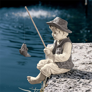 The Little Fisherman by Design Toscano