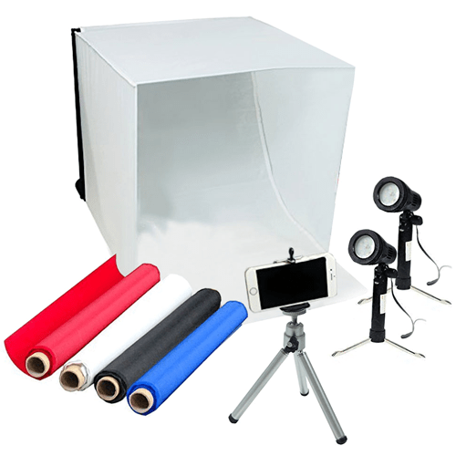 LimoStudio-Table Top Photography Studio Lighting Kit