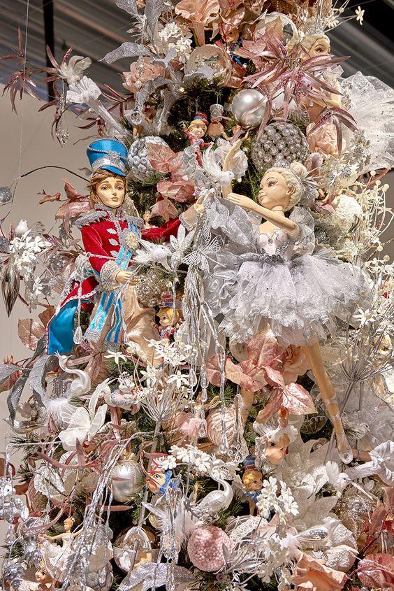 fairy nutcracker ballet Christmas tree
