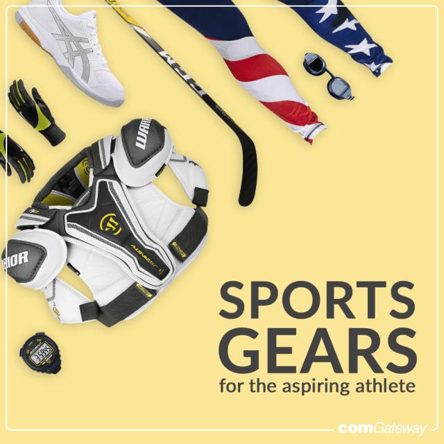 sports gears, athletic gears, athlete, aspiring athlete