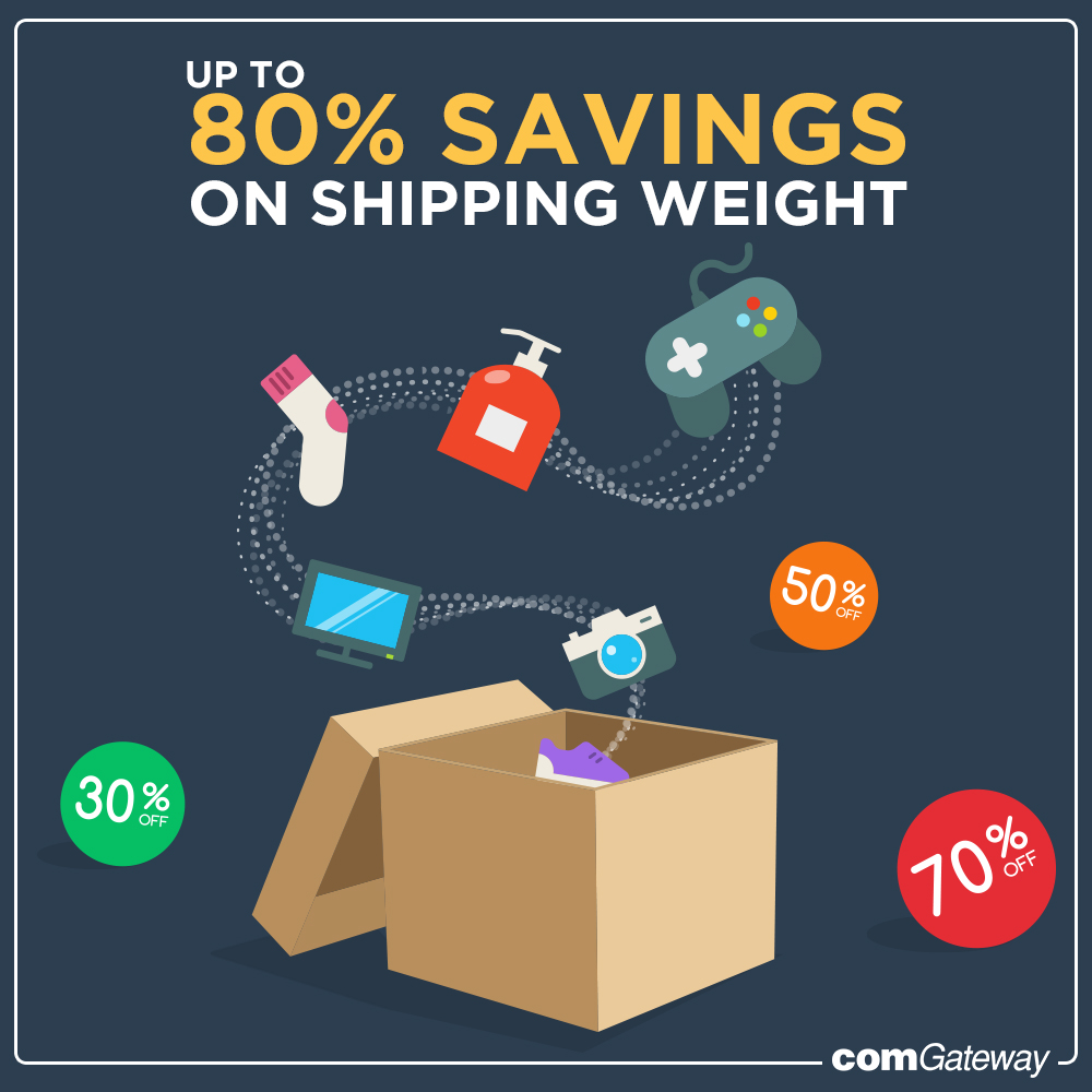 save on shipping weight
