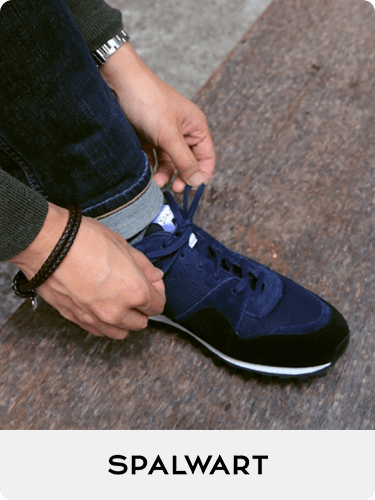 blue sneakers, navy shoes for men, Spalwart Marathon Trail Low
