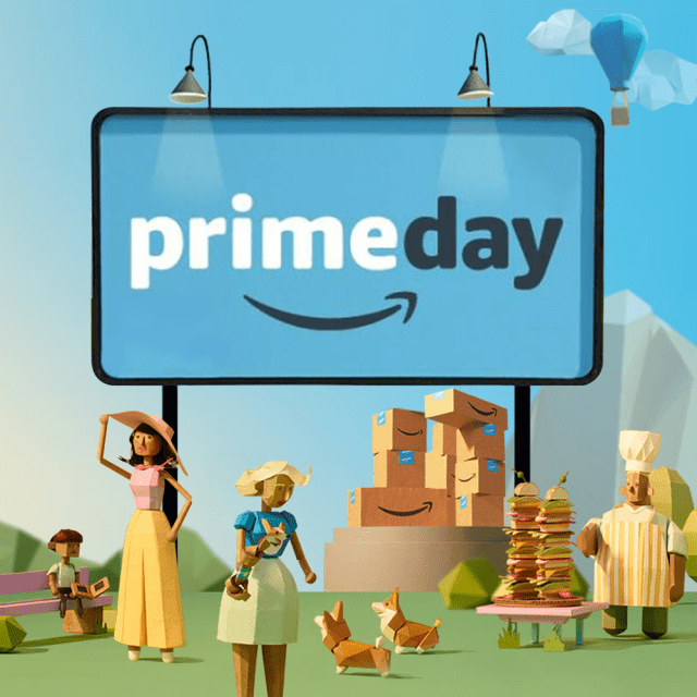 Blue, amazon prime day, amazon prime day 2018, banner