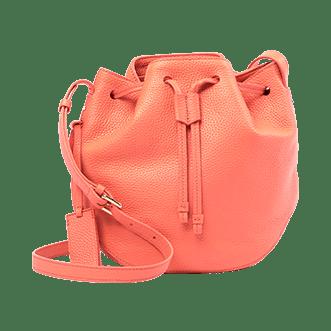 Neely & Chloe Leather Bucket Bag