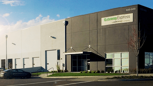 comGateway's Portland Oregon warehouse