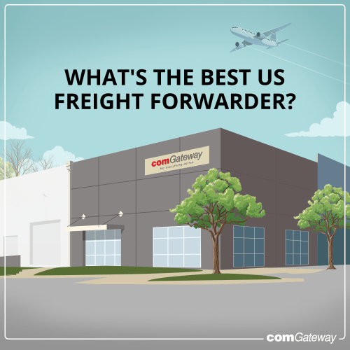 Blog Cover- What's the Best US Freight Forwarder?