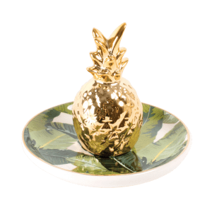 Dormify Gold Pineapple Ring Holder