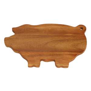 Picnic Plus Pig Wood Cutting Board