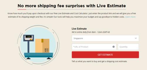 comGateway's Live Estimate