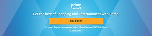 Amazon Prime Day 2019 Prime membership free trial
