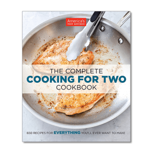 America's Test Kitchen: The Complete Cooking For Two Cookbook from Amazon