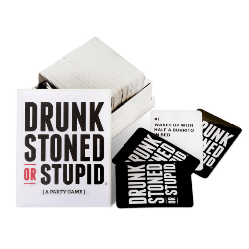 Fun Board Games for Adults- Drunk Stoned or Stupid