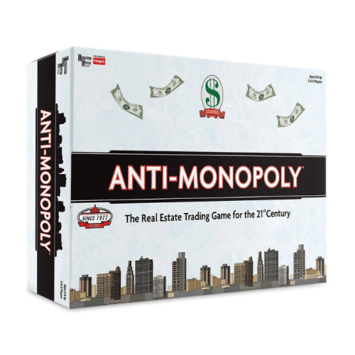 Fun Board Games for Adults- Anti-Monopoly