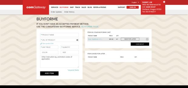 BuyForme screenshot 2