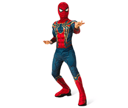Boys' Costume- Spiderman in Iron Spider armor