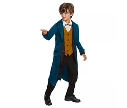 Boys' Costume- Newt Scamander from Fantastic Beasts