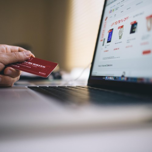 Use your credit with the biggest rewards when shopping from online stores on Black Friday.
