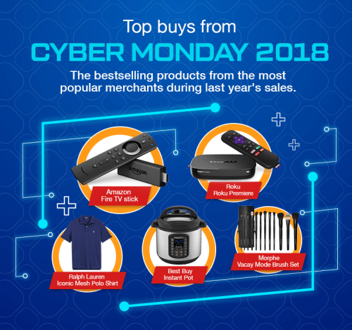 Best-selling products from Cyber Monday 2019